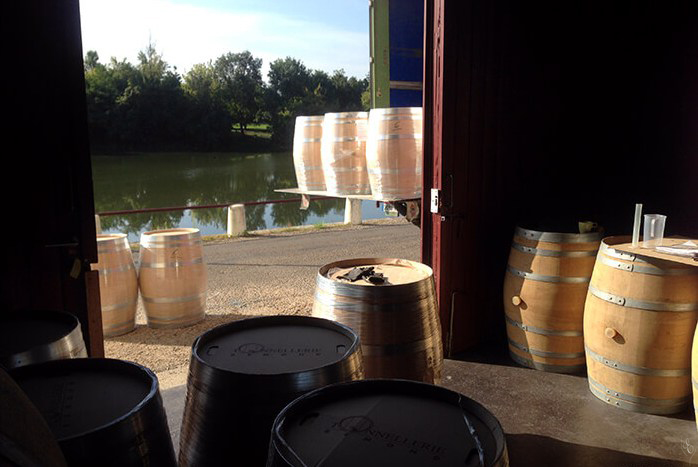 Grand Cru Experience  The arrival of the new oak barrels, Tonnelerie Baron, Bordeaux