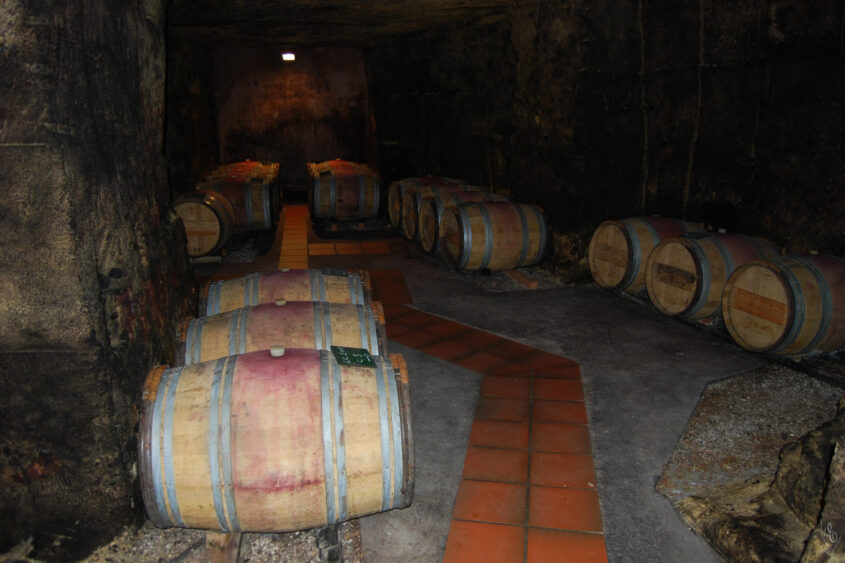 Grand Cru Experience underground cellar Saint Emilion